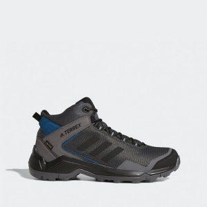 נעלי טיולים אדידס לגברים Adidas Terrex Eastrail Mid GTX Gore-Tex - אפור כהה
