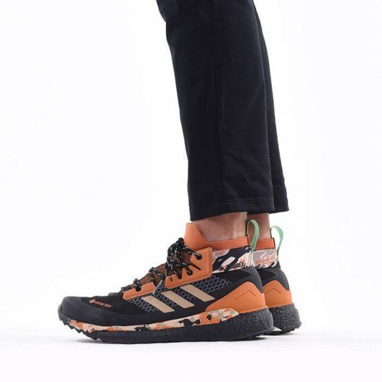 נעלי טיולים אדידס לגברים Adidas Terrex Free Hiker Gore-Tex - צבעוני כהה