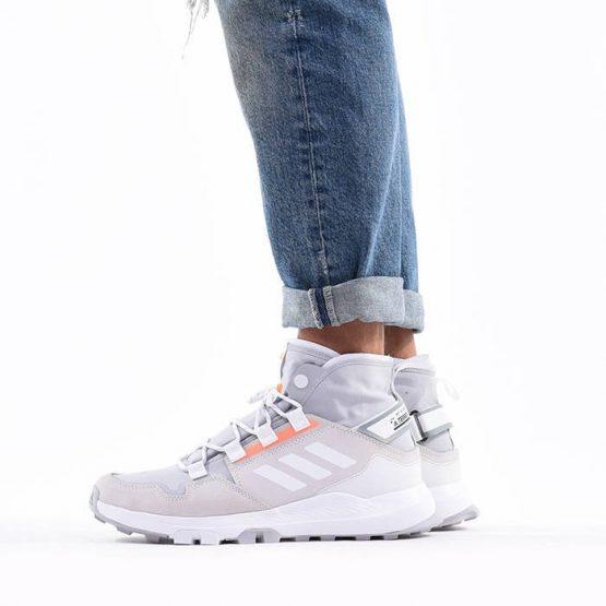 נעליים אדידס לגברים Adidas Terrex Hikster Mid - לבן