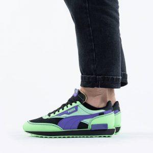 נעלי סניקרס פומה לגברים PUMA Future Rider - ירוק