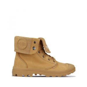 נעליים פלדיום לגברים Palladium Pampa Baggy Nubuck - חום