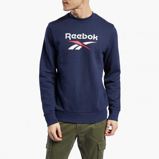 ביגוד ריבוק לגברים Reebok Classic Vector Crew - כחול