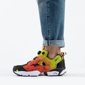נעלי סניקרס ריבוק לגברים Reebok Instapump Fury OG - צבעוני