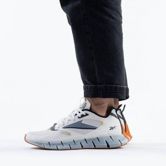 נעלי ריצה ריבוק לגברים Reebok Zig Kinetica Horizon - לבן