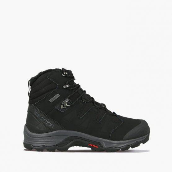 נעלי טיולים סלומון לגברים Salomon Quest Winter GTX  Gore-Tex - שחור