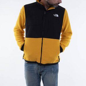 סווטשירט דה נורת פיס לגברים The North Face Denali 2 - צהוב