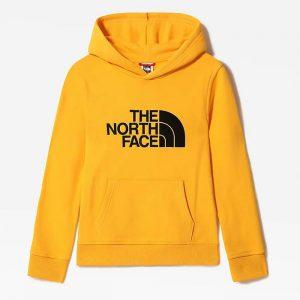 סווטשירט דה נורת פיס לגברים The North Face Drew Peak Po - צהוב