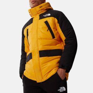 ג'קט ומעיל דה נורת פיס לגברים The North Face Himalayan Insulated Parka - שחור/צהוב