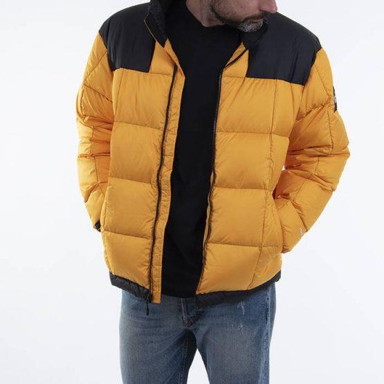 ביגוד דה נורת פיס לגברים The North Face Lhotse Jakcet - צהוב
