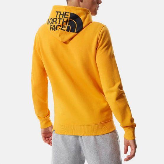 סווטשירט דה נורת פיס לגברים The North Face Seasonal Drew Peak - צהוב