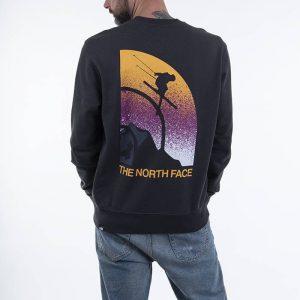 סווטשירט דה נורת פיס לגברים The North Face Snow Maven Crew - אפור