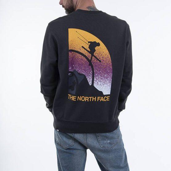 ביגוד דה נורת פיס לגברים The North Face Snow Maven Crew - אפור