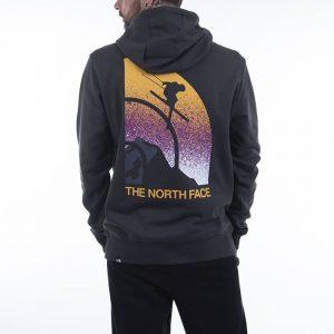 סווטשירט דה נורת פיס לגברים The North Face Snow Maven - אפור כהה