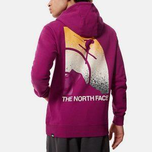 סווטשירט דה נורת פיס לגברים The North Face Snow Maven - ורוד