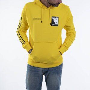 ביגוד דה נורת פיס לגברים The North Face Steep Tech Logo - צהוב