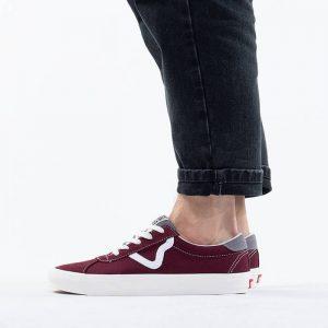 נעליים ואנס לגברים Vans RETRO SPORT - בורדו