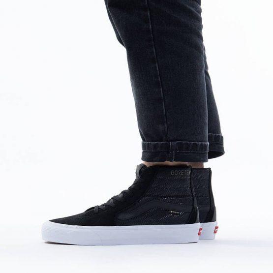 נעליים ואנס לגברים Vans Sk8-Mid Gore-Tex GTX - שחור