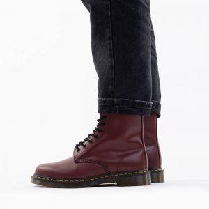 נעליים דר מרטינס  לגברים DR Martens 1490 Cherry Red Smooth - בורדו
