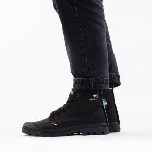נעליים פלדיום לגברים Palladium Pampa Dare Exchange - שחור