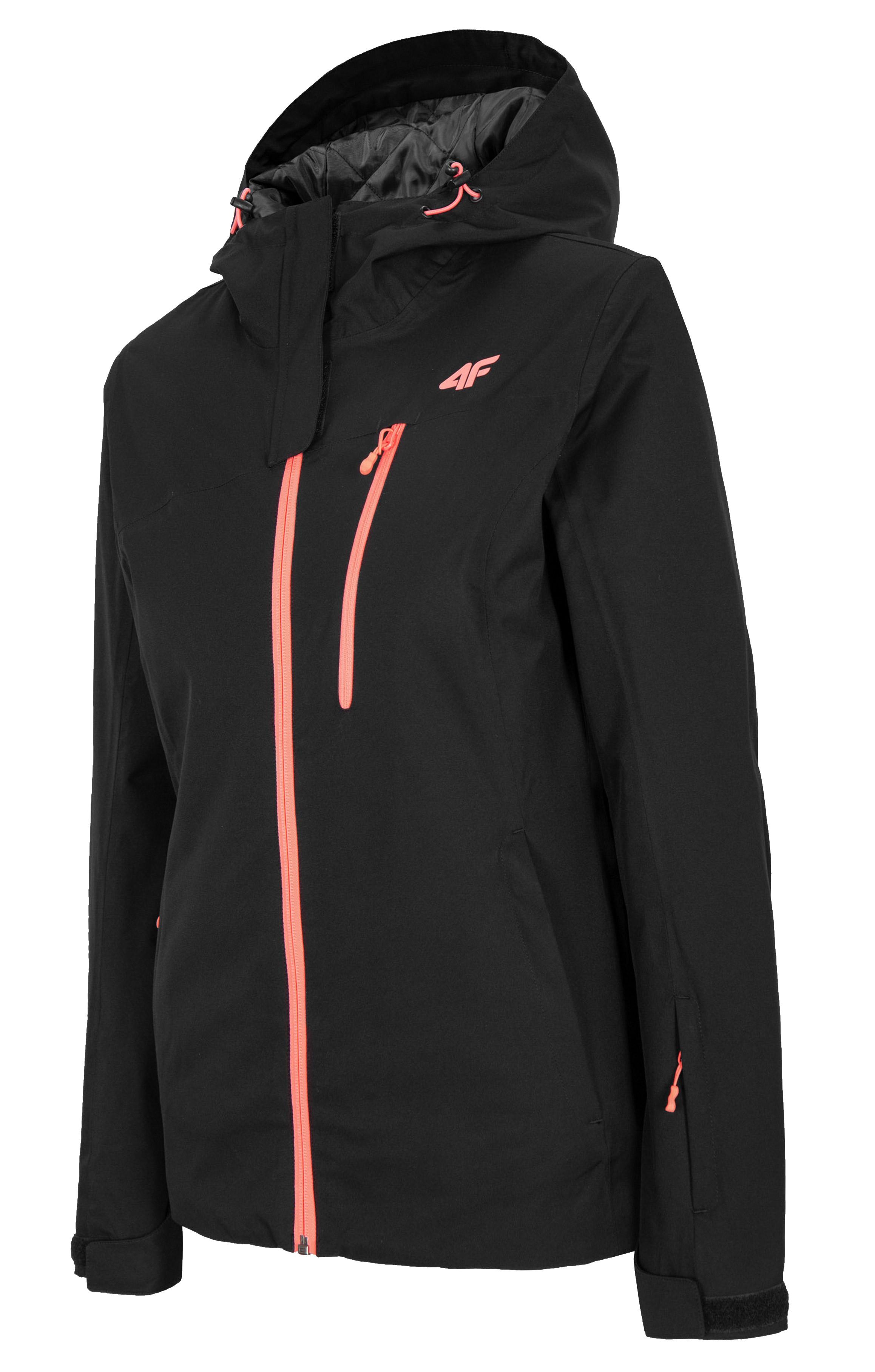 ג'קט ומעיל פור אף לנשים 4F NeoDry 8000 - שחור