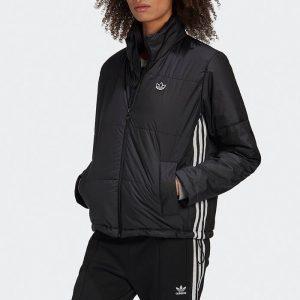 ביגוד אדידס לנשים Adidas Originals Short Puffer - שחור