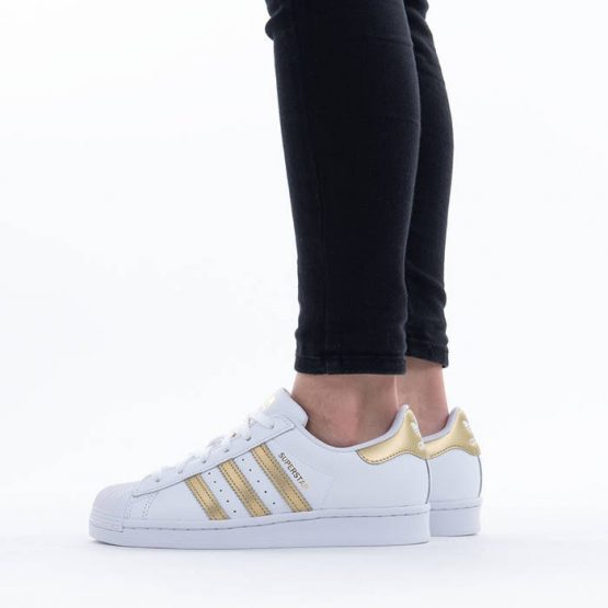 נעלי סניקרס אדידס לנשים Adidas Originals Superstar 2.0 - לבן/צהוב
