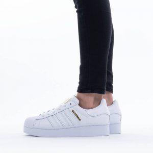 נעלי סניקרס אדידס לנשים Adidas Originals Superstar Bold - לבן