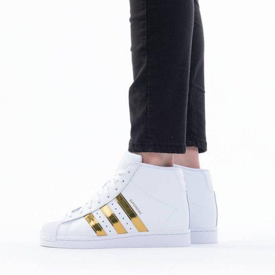 נעליים אדידס לנשים Adidas Originals Superstar Up - לבן