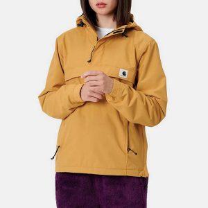 ביגוד קארהארט לנשים Carhartt WIP Nimbus Pullover - צהוב