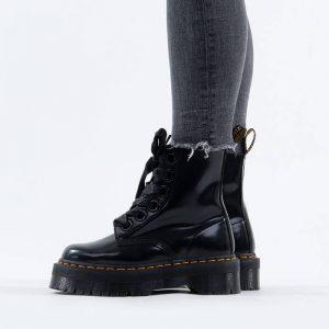 מגפי דר מרטינס  לנשים DR Martens Molly Leather Platform - שחור