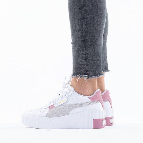 נעליים פומה לנשים PUMA Cali Wedge Mix - לבן