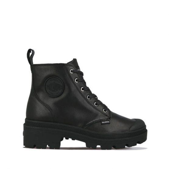 נעליים פלדיום לנשים Palladium PALLABASE - שחור