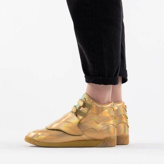 נעלי סניקרס ריבוק לנשים Reebok x Wonder Woman - זהב