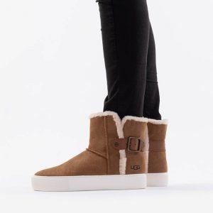 נעליים האג לנשים UGG Aika - חום/לבן