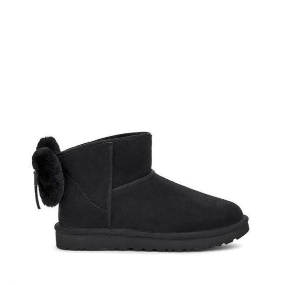 נעליים האג לנשים UGG Classic Mini Bow - שחור