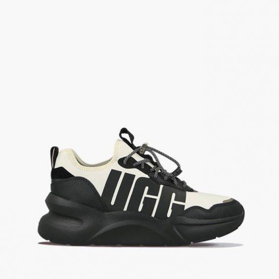 נעליים האג לנשים UGG La Daze - שחור/לבן