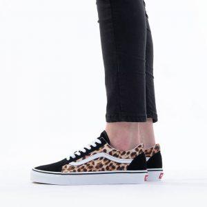נעלי סניקרס ואנס לנשים Vans LEOPARD OLD SKOOL - מנומר