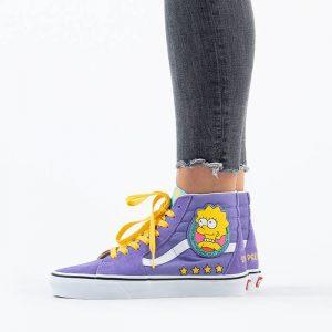 נעליים ואנס לנשים Vans x The Simpson Sk8-Hi - סגול