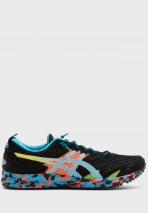 נעלי ריצה אסיקס לנשים Asics GEL-NOOSA TRI 12 - צבעוני/שחור