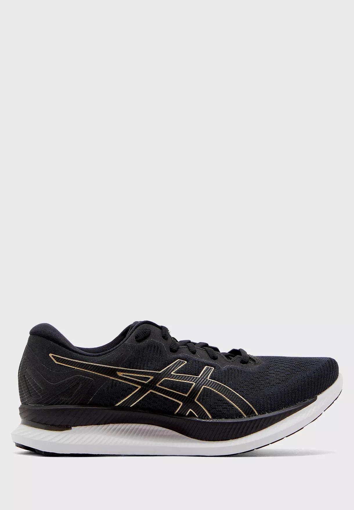נעלי ריצה אסיקס לגברים Asics GlideRide - שחור