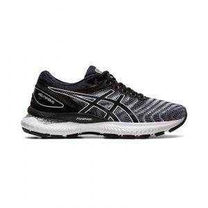 נעלי ריצה אסיקס לגברים Asics GEL-Nimbus 22 - שחור/לבן