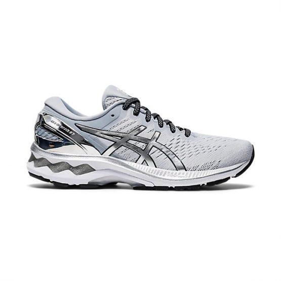 נעלי ריצה אסיקס לנשים Asics Gel Kayano 27 Platinum - כסף
