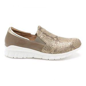 נעלי סניקרס טבע נאות לנשים Teva naot Titan - זהב