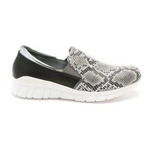 נעלי סניקרס טבע נאות לנשים Teva naot Titan - שחור/לבן