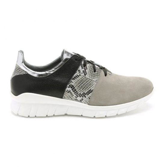 נעלי סניקרס טבע נאות לנשים Teva naot Bazz - שחור/אפור