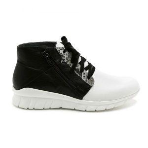 נעלי סניקרס טבע נאות לנשים Teva naot Polaris - שחור/לבן