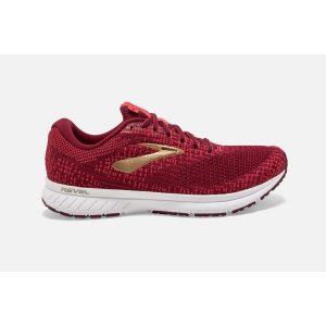 נעלי ריצה ברוקס לנשים Brooks 3 Revel - אדום