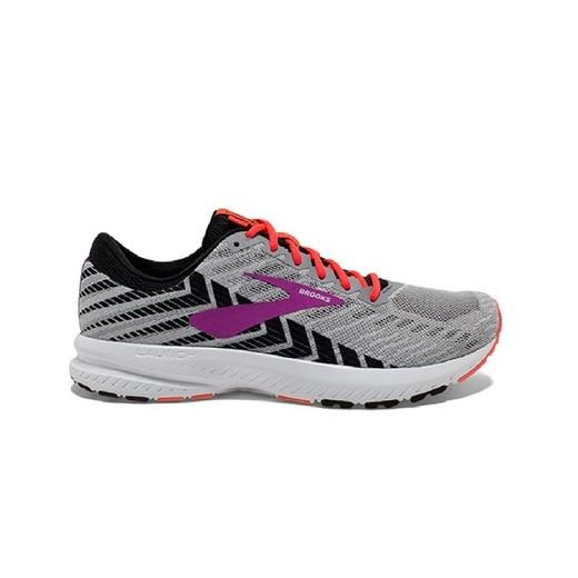 נעלי ריצה ברוקס לנשים Brooks Launch 6 - אפור/סגול
