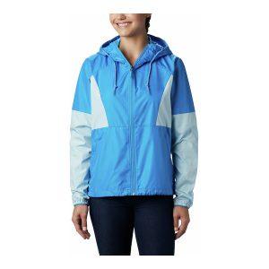 ג'קט ומעיל קולומביה לנשים Columbia SIDE HILL WINDBREAKER - כחול