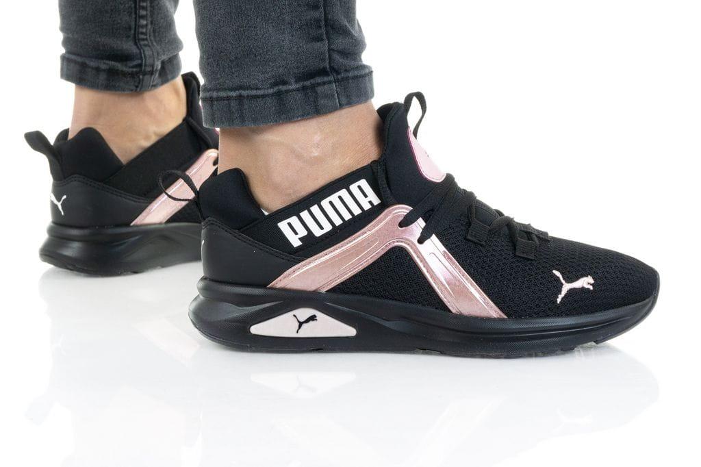 נעלי סניקרס פומה לנשים PUMA ENZO 2 SHIMMER - שחור